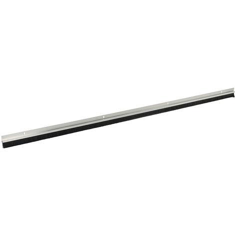 Burlete para puerta con cepillo, cerdas de 15 mm Cerdas de 914 mm, aluminio - NEOFERR