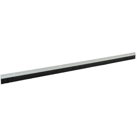 Burlete para puerta con cepillo, cerdas de 25 mm Cerdas de 914 mm, blanco - NEOFERR