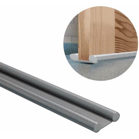 Burlete puerta espuma gris bajopuerta 95 cm.