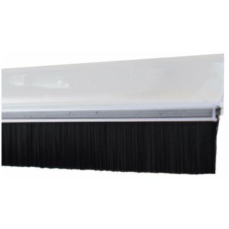 BURLETE PVC C/FLECOS TRANSPARENTE 1M FSK