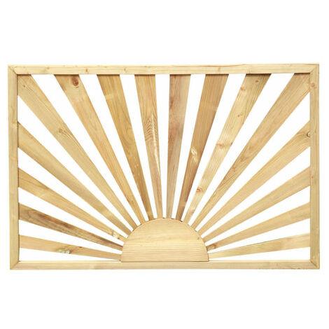 Burst of Sunshine Decking Panels - Wooden Design - Pressure Treated