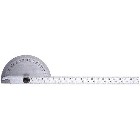 Buscador de angulo Regla de medicion de carpinteria rotativa