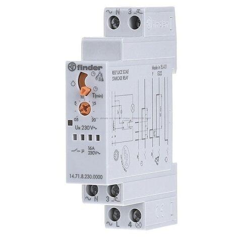 Buscador de escalera de relés de iluminación modular 1471 FIN14718230