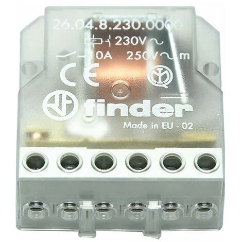 Buscador de interruptor de relé y un pulso 230v FIN26048230