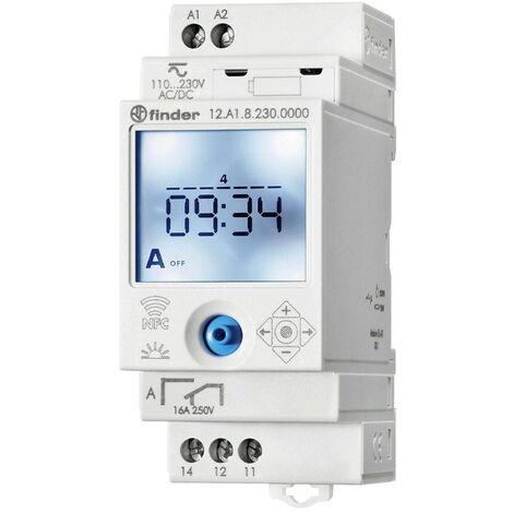 Buscador de interruptor de tiempo astronómico NFC 1 contacto 12.A1.8.230