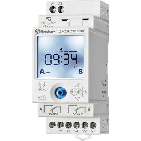 Buscador de interruptor de tiempo astronómico NFC 2 contactos 12.A2.8.230
