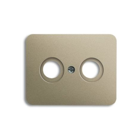 Busch-Jaeger Alpha bascule série Interrupteur//boutons poussoir bronze 1785-21 couverture NEUF