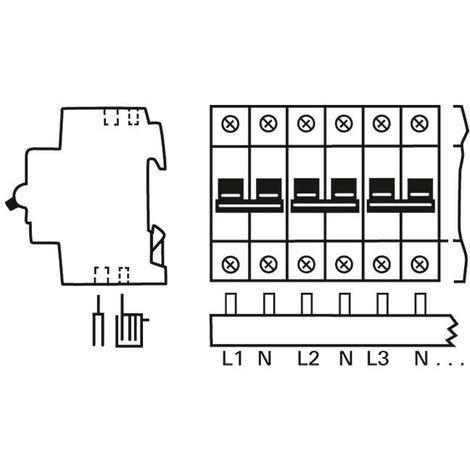 Busch-Jaeger Verteiler-Set 3099 SET4