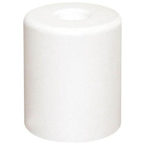 Butée de porte Maxigum caoutchouc blanc AVL sans vis - Ø30 H.35 mm - BB43035