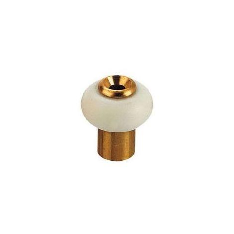 Butoir de porte laiton rehaussé - Décor : Poli - Diamètre : 30 mm - Hauteur : 32 mm - Matériau : Laiton - ITAR