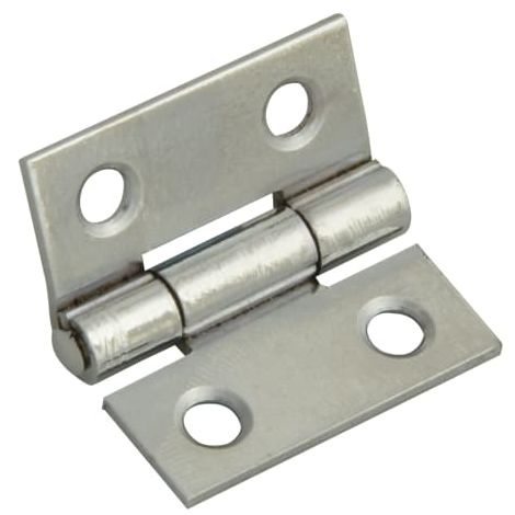 Butt Hinge Polished Chrome Finish 25mm (1in) Pack of 2 (FGEHNGBTPC25)