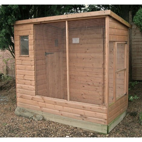 Buttercup All Weather Outdoor Bird Aviary Pet Cage 10' x 4'