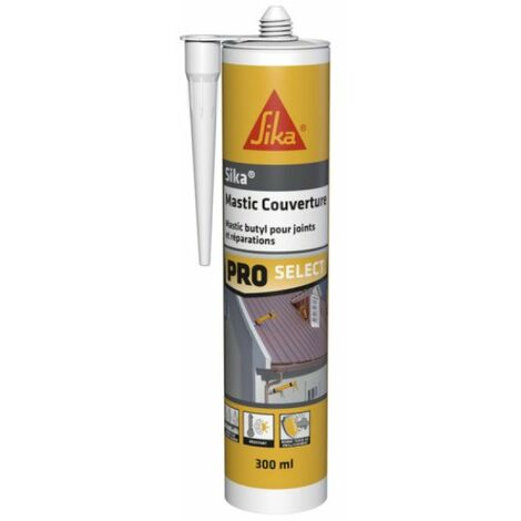 Butyl Putty SIKA Mastic Cover - Gray - 310ml