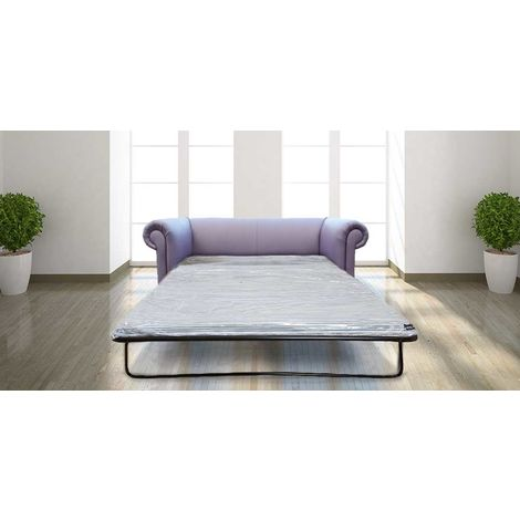 Buy sage green quality Chesterfield sofa bed at DesignerSofas4U