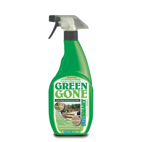 Buysmart Green Gone Algae and Moss Killer - 750ml Spray Bottle