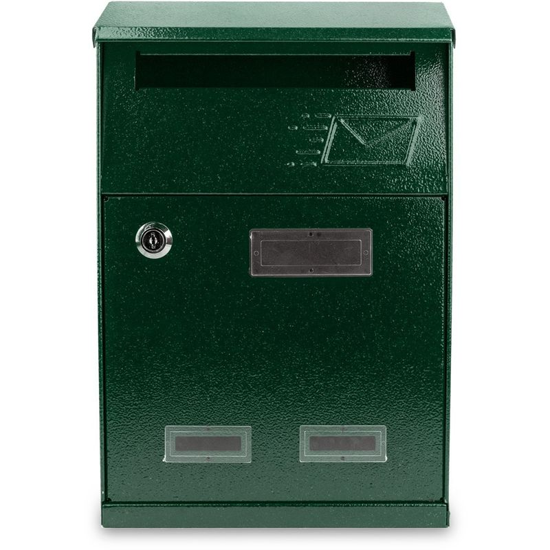 Verde 729 tapa superior anti lluvias 21x10x32 cm Buz/ón BRIGE ARTIGIAN FERRO Art