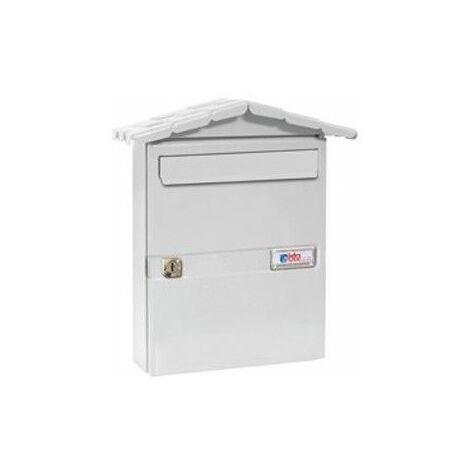 Buzon Exterior Btv Acero Blanco Chalet 02110