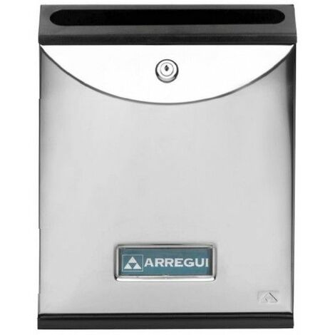 Buzon Interior 302X242X62Mm Vertical Arregui Acero Inox Future V1005