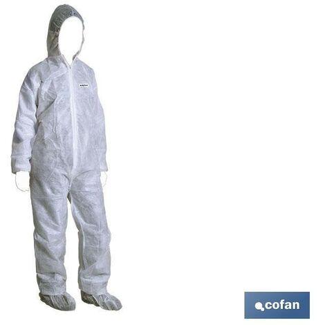 Buzos Seguridad Blanco o azul (T-4, 5 y 6) EPI Categoría tipo III