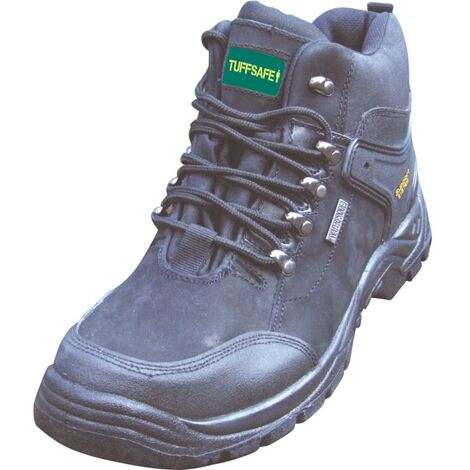 BWB08 Men's Black Safety Boots