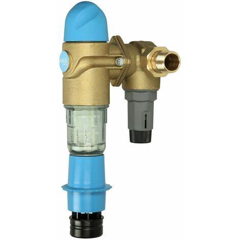 """BWG Frankonia Compact, 1 1/4"""" filtre à contre courant avec détendeur"""