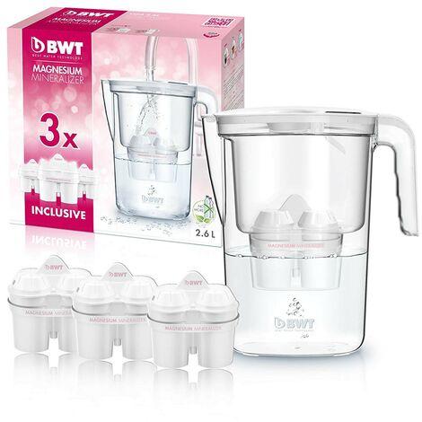 BWT Vida Manual – Jarra filtradora de agua con magnesio 2,6L Blanco