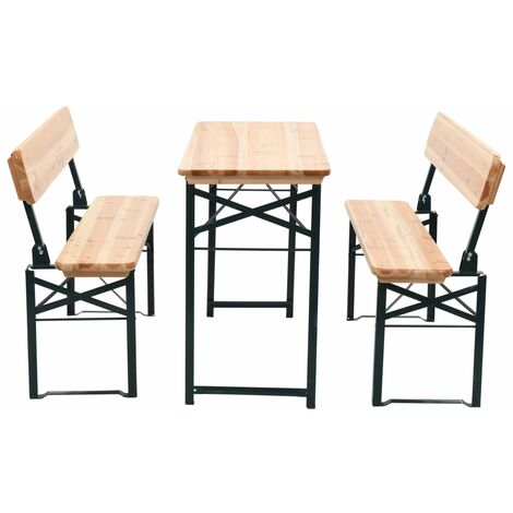 """main image of """"Byers 4 Seater Dining Set by Dakota Fields - Brown"""""""