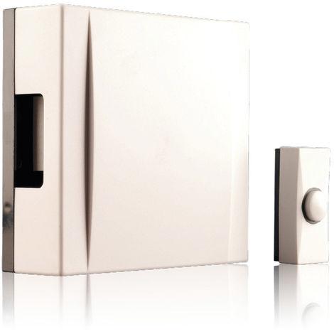 Honeywell DC311N WF Chime Kit 150m 4 Tunes 80dB White Doorbell