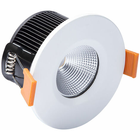 Byron BYR2000230 LED Fire Rated Downlight 4.7W White 240V