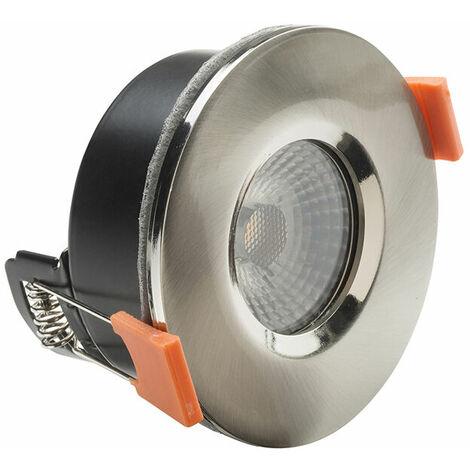 Byron BYR2000813 LED Fire Rated Anti-Glare Downlight 3.8W Satin Nickel 240V