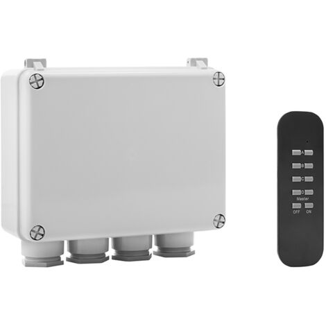 """main image of """"Byron BYRSH5SET Outdoor 3-Way Switch Box & Remote"""""""