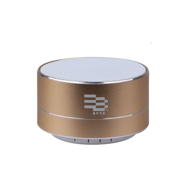 Image of Byte Metal Pulse Bluetooth Speaker - Bronze