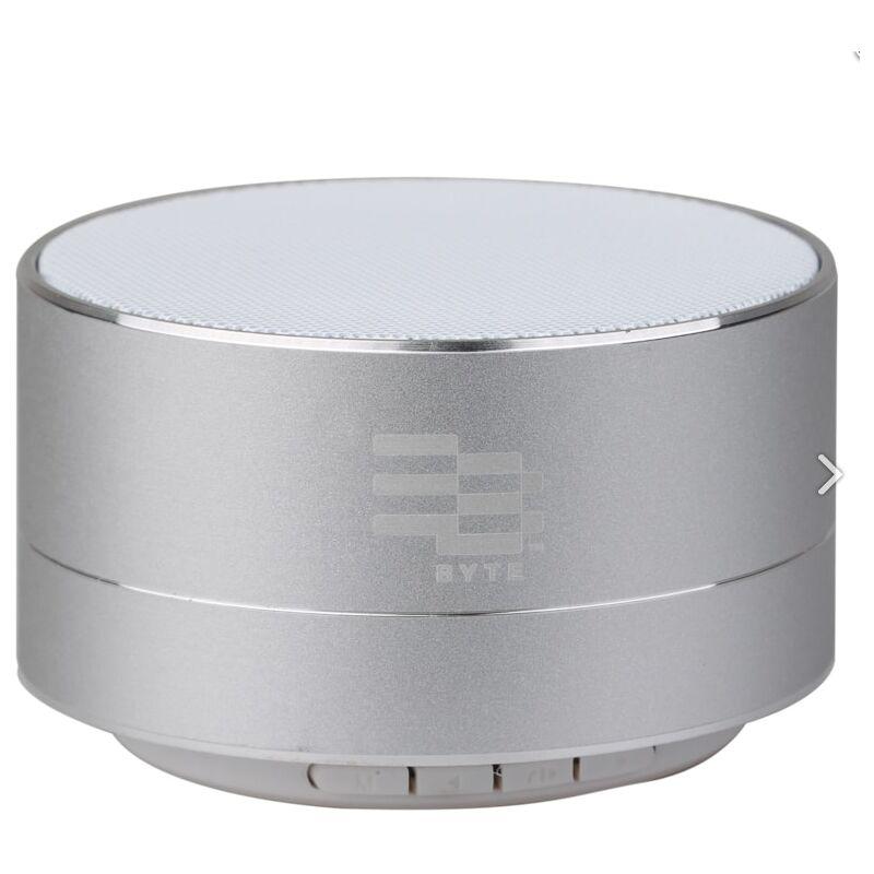 Image of Byte Metal Pulse Bluetooth Speaker - Silver