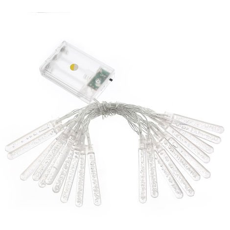 BZ509 2.2M 20 bombillas, lampara de adorno de pilar, luces de cadena