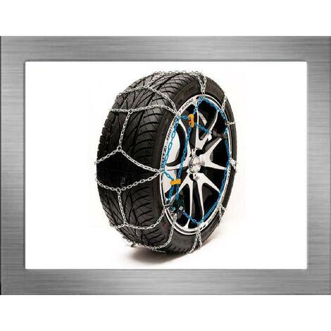 BZCH120 - Chaine a neige 9mm compatible avec pneu 15 16 17 18 19 pouces - BUTZI