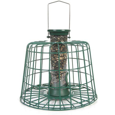 C J Guardian Seed Bird Feeder Pack (Medium) (Green)