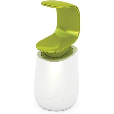"main image of ""C Pump - Liquid Soap Dispenser - White / Green"""