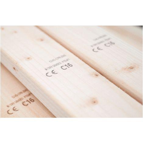 C16 Sawn Timber Floor Joist 45x195mm ( 8x2 Inch)