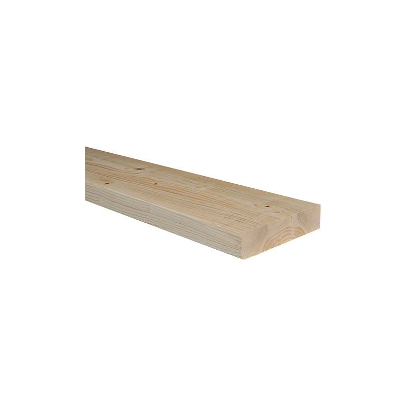 6x2 Inch Pack of 4 C24 Sawn Treated Timber Joist 45x145mm 3.0M