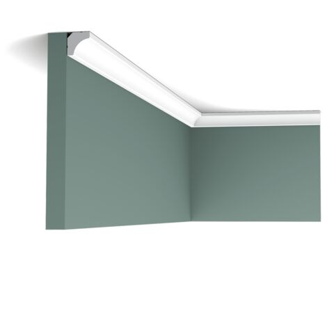 C250F FlexibleCorniche plafond polyuréthane Orac Decor Luxxus - 200x1,5x1,5 cm (Lxhxp) - rigideouflexible : flexible - conditionnement : A l'unité