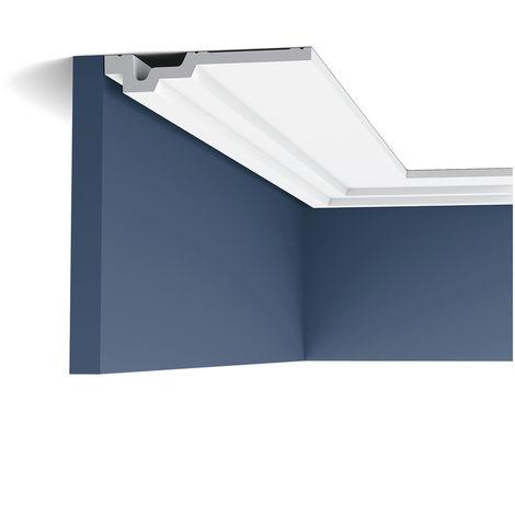 C353 Corniche plafond polyuréthane Orac Decor Luxxus - 3,5x16,5x200cm (h x p x L) moulure décorative - conditionnement : A l'unité
