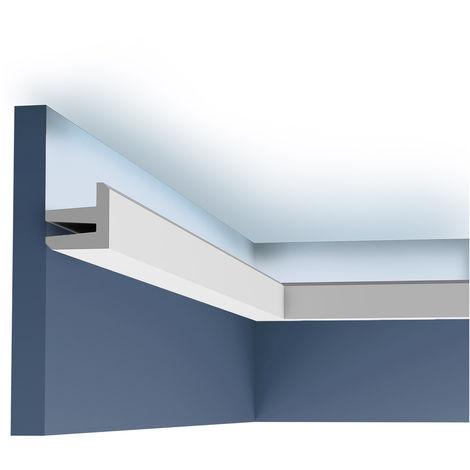 C380 Corniche Plafond Orac Decor -Luxxus - 5x5cm (h x p) - conditionnement : A l'unité