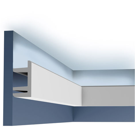 C381 Corniche Plafond Orac Decor -Luxxus - 9,5x5cm (h x p) - conditionnement : A l'unité