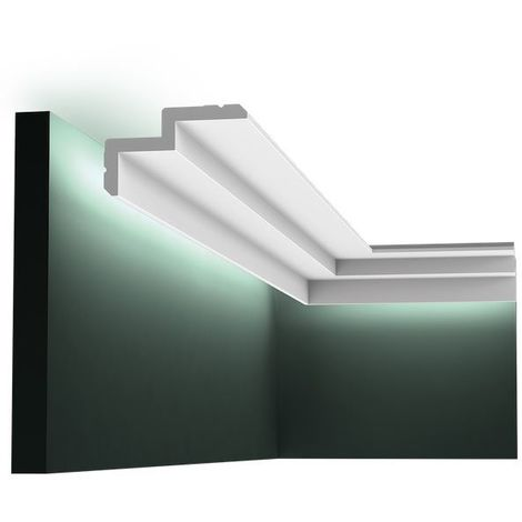 C390 Contemporary Coving or LED Lighting Moulding