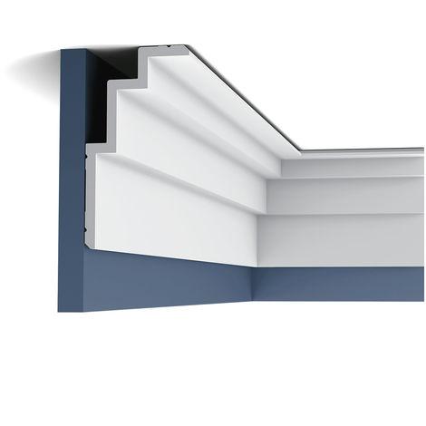 C392 Corniche Plafond Orac Decor - Luxxus - 19x10x200cm (h x p x L) moulure décorative - conditionnement : A l'unité