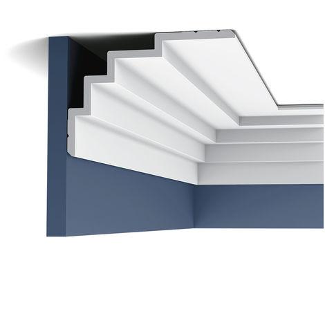 C393 Corniche Plafond Orac Decor - Luxxus -15x21x200cm (h x p x L) moulure décorative - conditionnement : A l'unité
