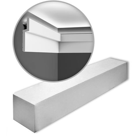 C395 Contemporary Coving or LED Lighting Moulding