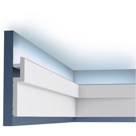 C395 STEPS Corniche Plafond Orac Decor - Luxxus -9,5x3,1x200cm (h x p x l) moulure décorative