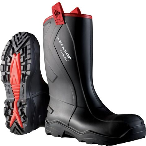 C762043 Purofort+ Rugged Black Safety Wellington Boots