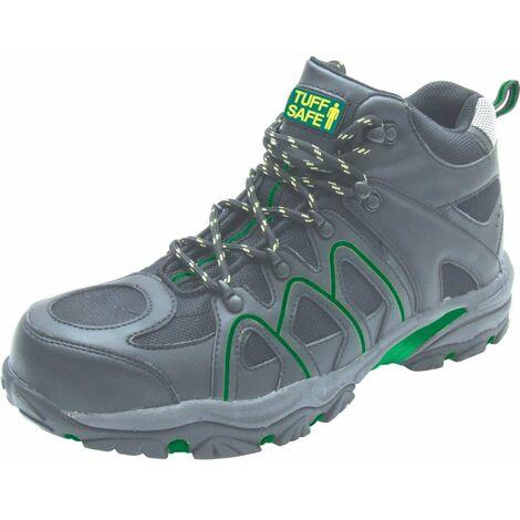 CAB09 Men's Black Safety Boots